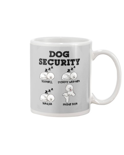 Bichon Frise Dog Security