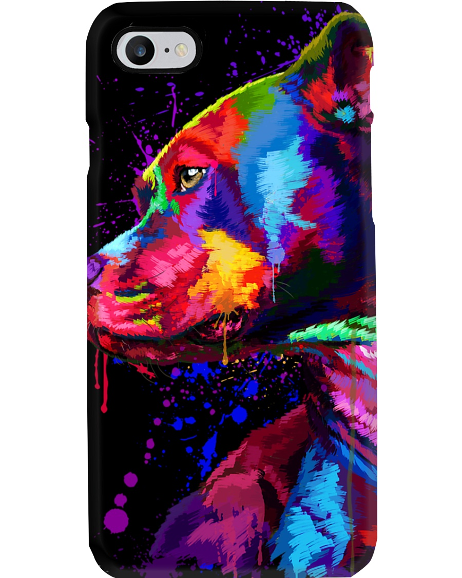 Pitbull Water Color Phone Case Phone Case