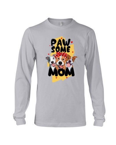 Pitbull pawsome mom