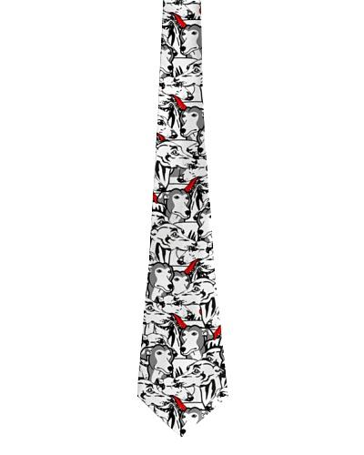 Greyhound tie pattern