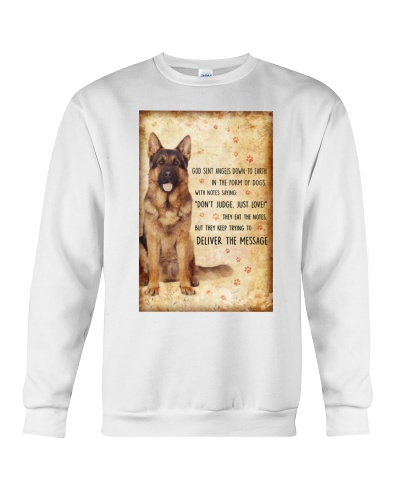 German Shepherd Angels Down To Earth