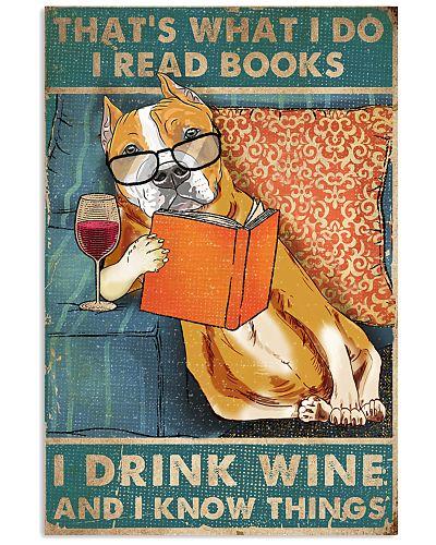Staffordshire I read books I drink wine