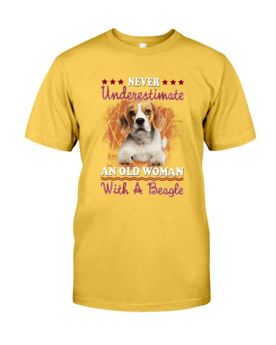 Beagle Old  Woman