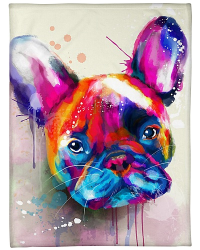 French Bulldog Water Color