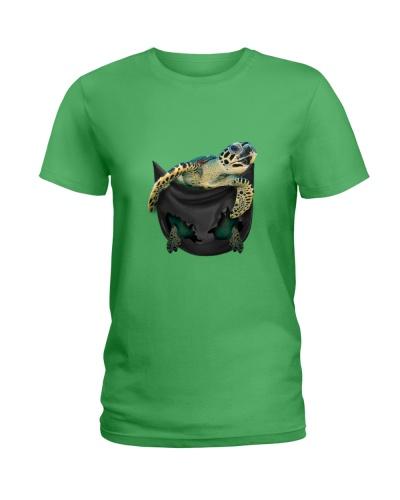 Turtle pig pocket