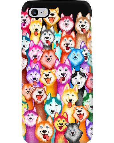 Husky phone case Multi