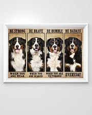 Bernese Mountain be strong 36x24 Poster poster-landscape-36x24-lifestyle-02