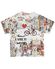 Home Is Where westie Is All-over T-Shirt back
