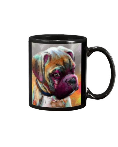 Boxer Water Color Phone Case