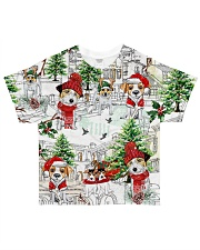 Jack russell  Christmas  All-over T-Shirt front