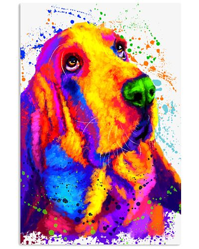 Basset Hound water color