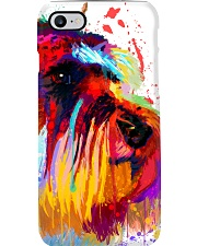 SCHNAUZER ONE SIDE FACE POSTER Phone Case thumbnail