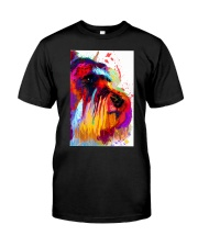 SCHNAUZER ONE SIDE FACE POSTER Classic T-Shirt thumbnail