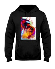 SCHNAUZER ONE SIDE FACE POSTER Hooded Sweatshirt thumbnail