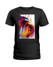 SCHNAUZER ONE SIDE FACE POSTER Ladies T-Shirt thumbnail