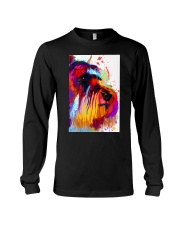 SCHNAUZER ONE SIDE FACE POSTER Long Sleeve Tee thumbnail