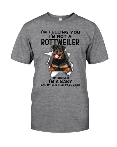 Rottweiler I Am A Baby