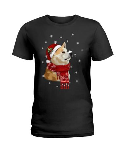 Akita christmas gift