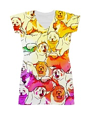 Chow Chow Multi All-over T-shirt All-over Dress front