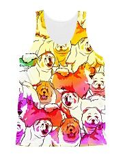 Chow Chow Multi All-over T-shirt All-over Unisex Tank thumbnail