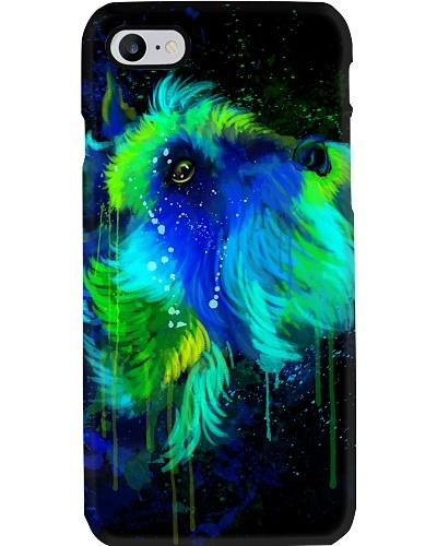 Schanuzer Water Color Phone Case