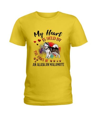 Alaskan Malamute My heart is held by Paws