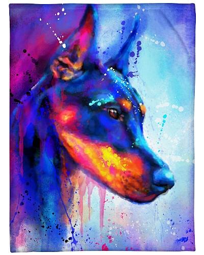Doberman  Water Color