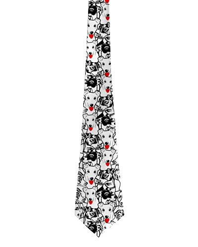 Jack russell tie pattern