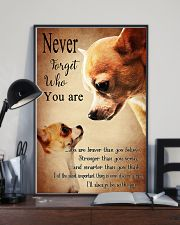 Chihuahua Never Forget 16x24 Poster lifestyle-poster-2