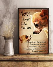 Chihuahua Never Forget 16x24 Poster lifestyle-poster-3