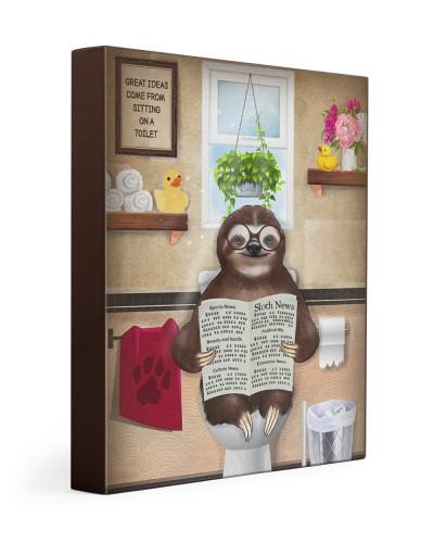 Sloth toilet