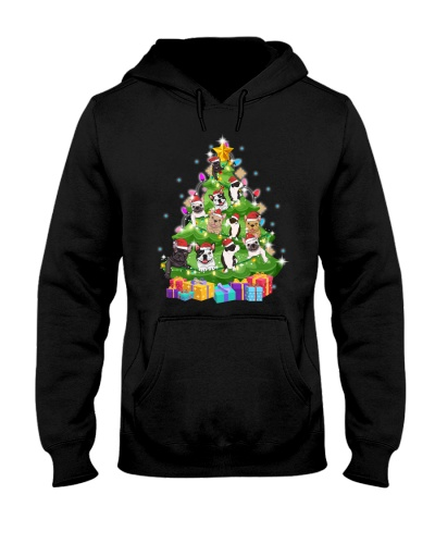 frenchie christmas tree