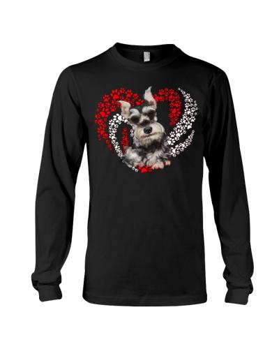 Schnauzer Dog Heart