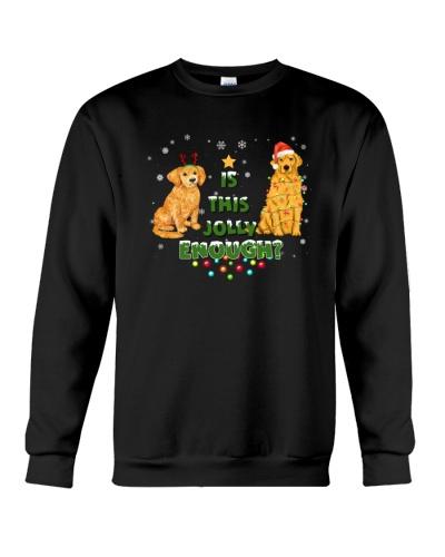 golden jolly christmas gift