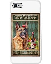 German Sherpherd Wine Phone Case thumbnail