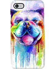 BullDog Poster Flow Art V2 Phone Case thumbnail