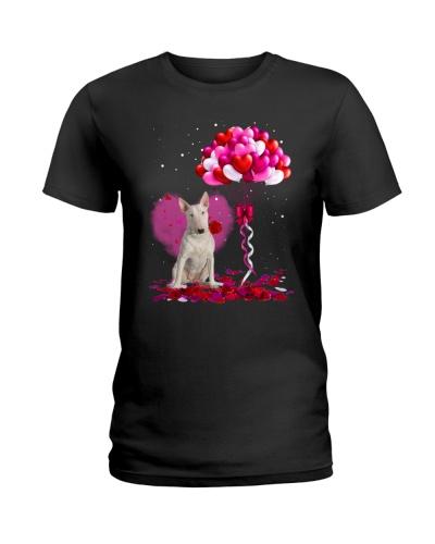 Bull Terrier Valentine Balloon