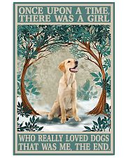 Labrador once upon a time Vertical Poster tile