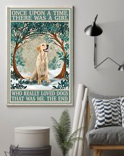 Labrador once upon a time 24x36 Poster lifestyle-poster-1