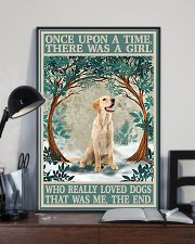 Labrador once upon a time 24x36 Poster lifestyle-poster-2