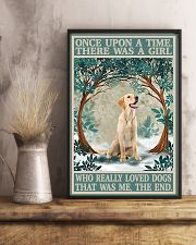Labrador once upon a time 24x36 Poster lifestyle-poster-3