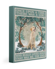 Labrador once upon a time 11x14 Gallery Wrapped Canvas Prints thumbnail