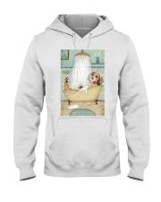 Beagle Bath Hooded Sweatshirt thumbnail
