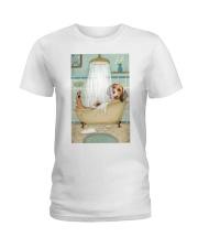 Beagle Bath Ladies T-Shirt thumbnail