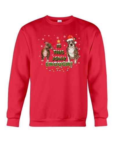 Pitbull jolly Christmas Gift