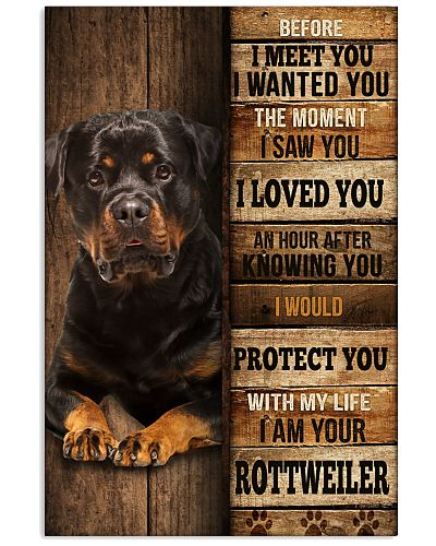Rottweiler protect you