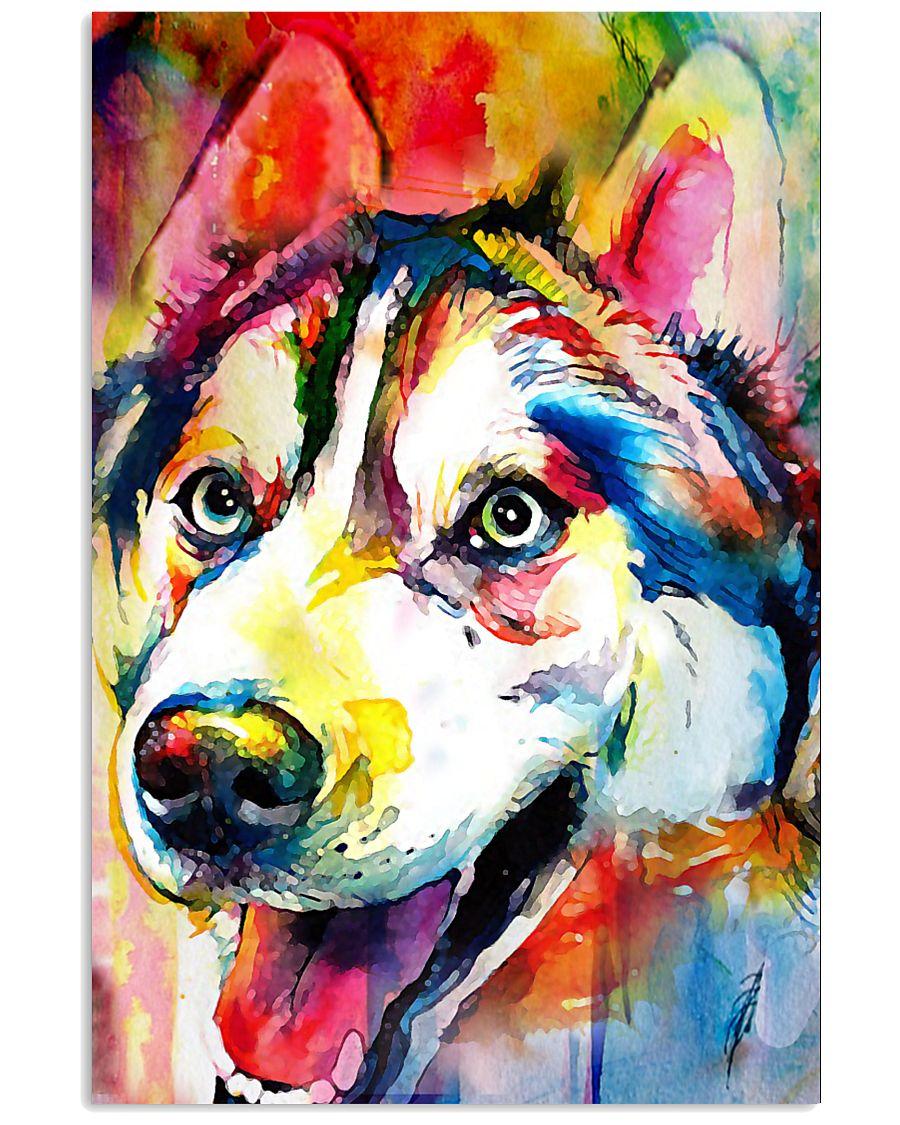Husky  Unique Art Full Color W1