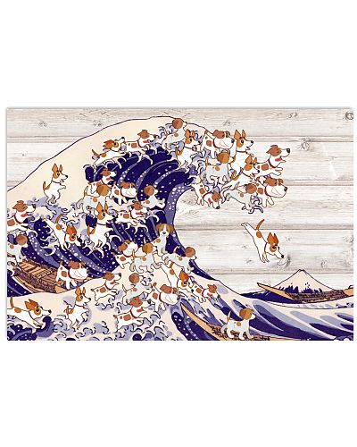 Jack russell the great wave of dog