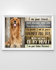 Golden Retriever my heart 36x24 Poster poster-landscape-36x24-lifestyle-02