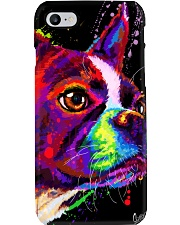Boston Terrier Poster Water Color Phone Case thumbnail